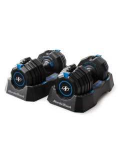 NordicTrackCA Select-A-Weight 55 Lb. Dumbbell Set Strength Training